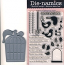 Die-namics Contempo Cage Die + Stamps *Limitiert*