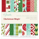 "American Crafts Paper Pad 6""x6"" - Christmas Magic"