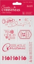 Papermania Clear Stamp - Create Christmas - Christmas Sentiments
