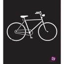 "Prima Marketing 6"" x 6"" Stencil - Bicycle"