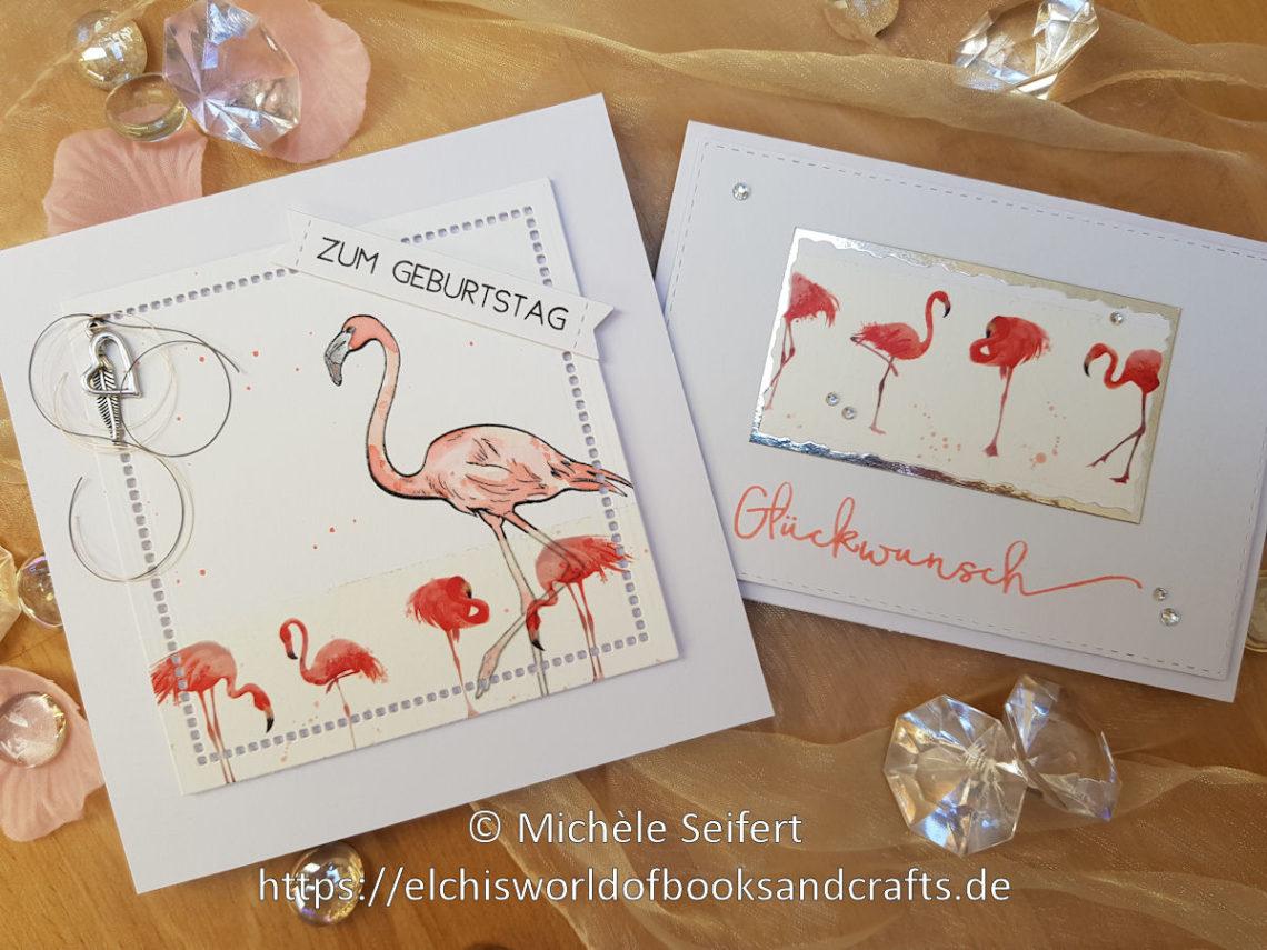 Alexandra Renke - Washi Tape - Flamingos