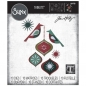 Mobile Preview: Sizzix Tim Holtz Thinlits - Ornamental Birds