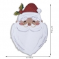 Preview: Sizzix Tim Holtz Thinlits Colorize - Santa`s Wish