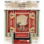 Preview: Tim Holtz Vignette Box Tops - Christmas