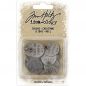 Preview: Tim Holtz - Muse Tokens - Christmas 18 Stk.