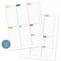 Preview: Snap! 26 Weekly Planning Inserts- Life Documented Planer Seiten