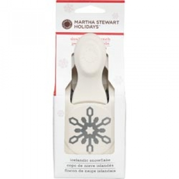Martha Stewart Large Double Craft Punch-Icelandic Snowflake