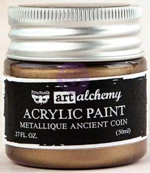 Prima Marketing Acrylic Paint - Metallique Ancient Coin