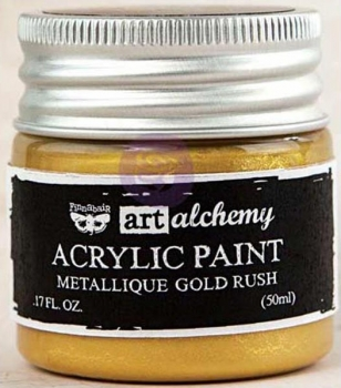 Prima Marketing Acrylic Paint - Metallique Gold Rush