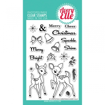 Avery Elle Clearstamps - Kitch Christmas