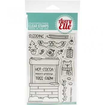 Avery Elle Clearstamps - Cocoa Stand