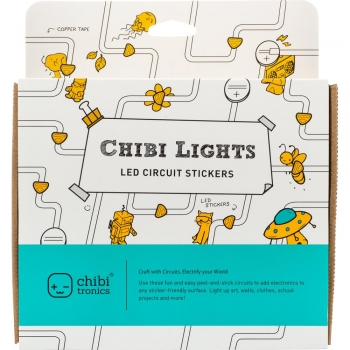 Chibitronics Chibi Lights - LED Circuit Stickers Starter Kit