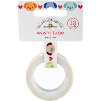 Doodlebug Washi Tape - Puppy Love