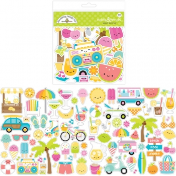 Doodlebug Die-Cuts Shapes - Sweet Summer