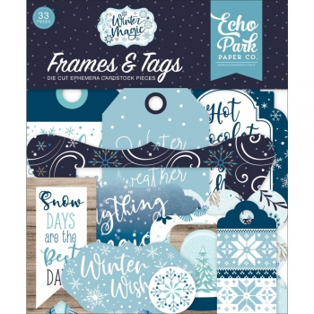 Carta Bella Frames & Tags - Winter Magic