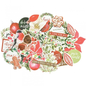 KAISERCRAFT COLLECTABLES - Die-Cuts Shapes - Peace and Joy
