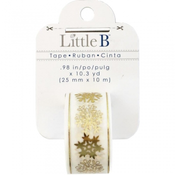 Little B Washi Tape - Snowflakes