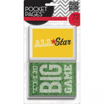 me&my Big ideas - Page Pocket - All Star - Rot