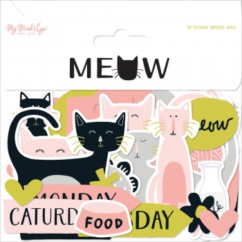 My Mind`s Eye - Mixed Bag (Die-Cuts) - Meow