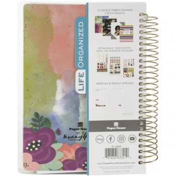 Paper House Mini Planner - Mommy Lhey