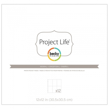 Project Life - Photo Pocket Pages Design L