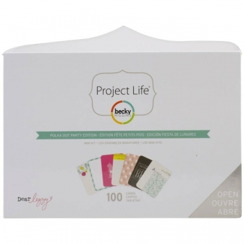 Projekt Life - Mini Kit - Polka Dot Party Edition