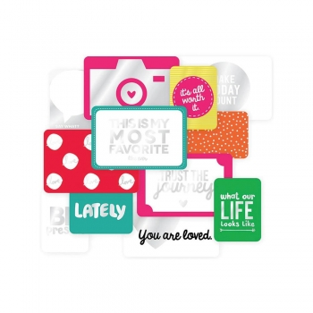 Project Life -Specialty Cards - Confetti 12 Stck.