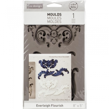 Prima Vintage Art Decor Moulds - Everleight Flourish