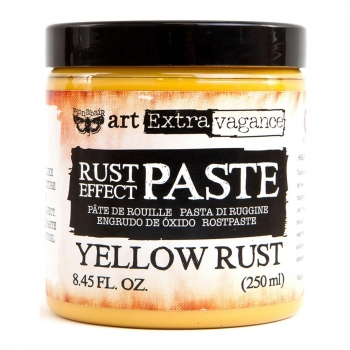 Finnabair Rust Effect Paste - Yellow Rust