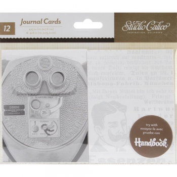 Studio Calico Journaling Cards - Classic