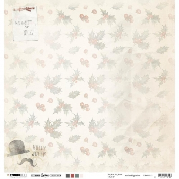 "Studio Light Ultimate Scrap Collection - # 52 12"" x 12"""