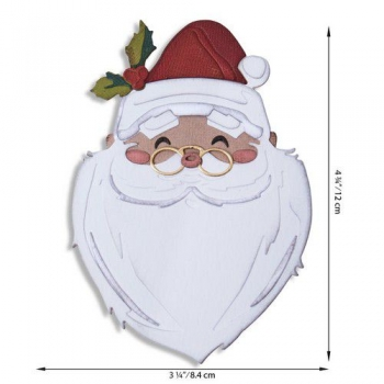 Sizzix Tim Holtz Thinlits Colorize - Santa`s Wish