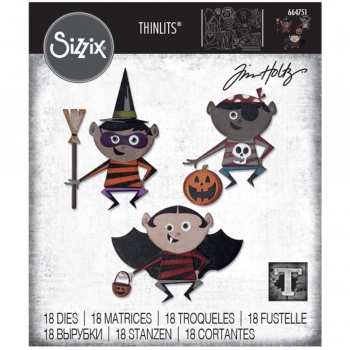 Sizzix Tim Holtz Thinlits - Trick or Treat