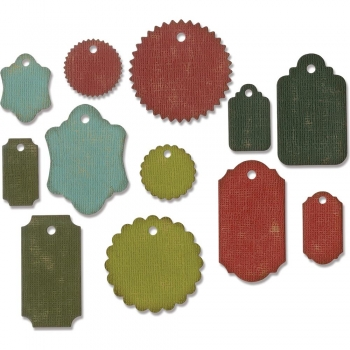 Sizzix Tim Holtz DIE Set - Gift Tags