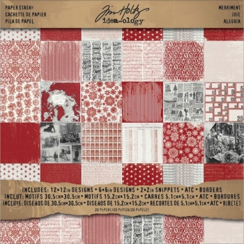 "Tim Holtz - Paper Stash Paper Pack Merriment 12"" x 12"""