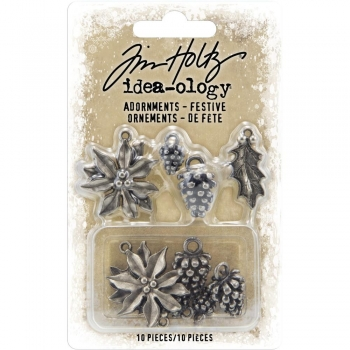 Tim Holtz - Adornments - Festive