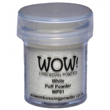 WOW! Embossingpulver Puff Powder - White