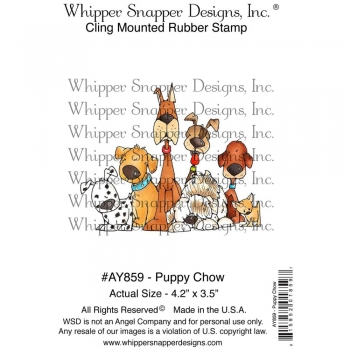 Whipper Snapper Cling - Puppy Chow