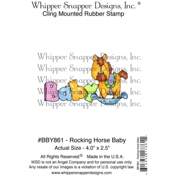 Whipper Snapper Cling - Rocking Horse Baby