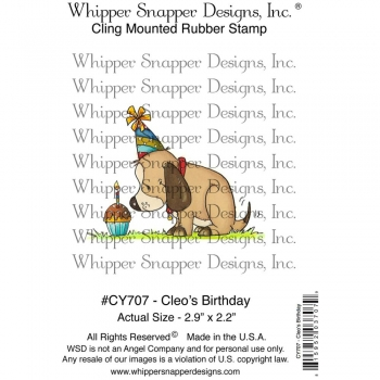 Whipper Snapper Cling - Cleo`s Birthday