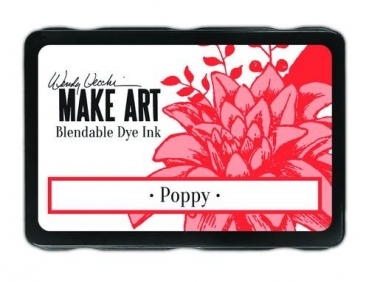 Wendy Vecchi Make Art Bledable Dey Ink - Poppy