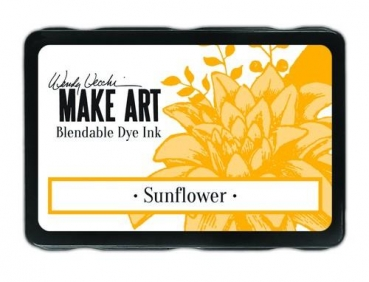 Wendy Vecchi Make Art Bledable Dey Ink - Sunflower