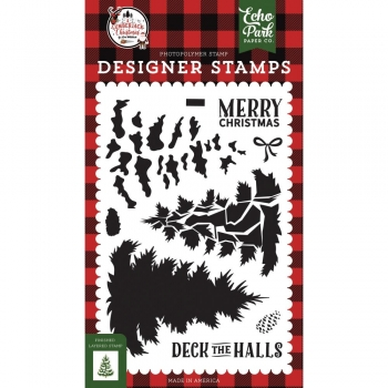 Echo Park Clear Stamps - Layered Pine Tree