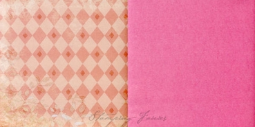 "Beatrix Rose Doublesided Paper "" Twiggs and Blocks """