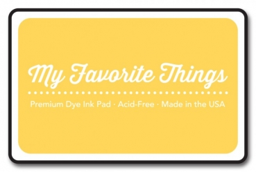MFT Premium Dye Ink Pad - Pineapple