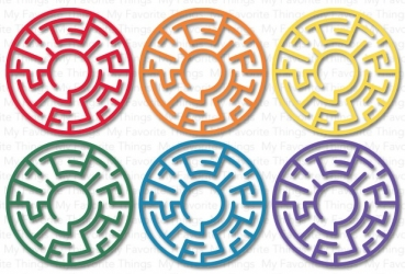 MFT Replenishments - Maze Shapes - Rainbow