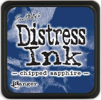 Mini Distress Ink Pad - Chipped Sapphire