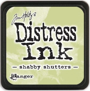 Mini Distress Ink Pad - Shabby Shutters
