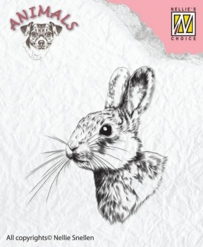 Nellie`s Choice Clearstamp - Rabbit - 2
