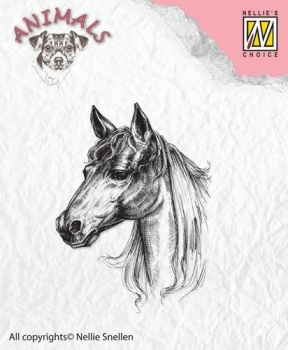 Nellie`s Choice Clearstamp - Horse